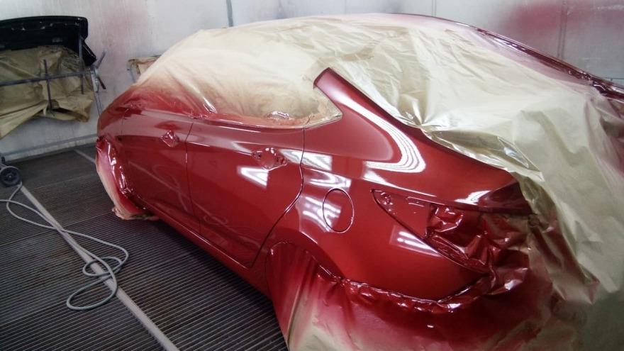 фото форд после ремонта в автосервисе