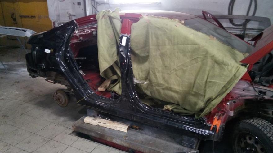 фото форд в процессе ремонта